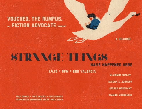 Strange Things Flier image